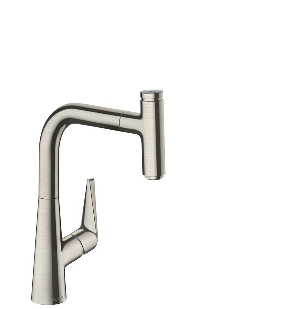 Hansgrohe 72822801 Talis S Kitchen Faucet steel Optic